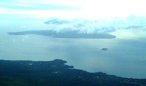 English: Aerial photo of Makena (Maui) and the...