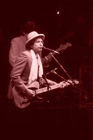 Bob Dylan performing in Ahoy Rotterdam The Net...