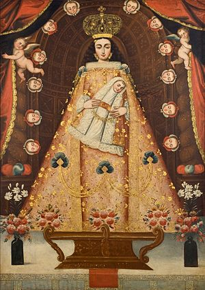 Anonymous Cuzco School painting, 18th century