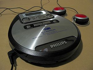 An MP3 CD player (Philips Expanium)