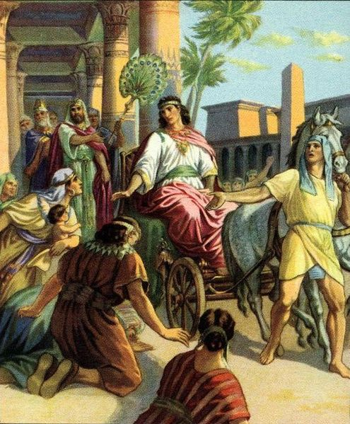 Joseph rules in Egypt