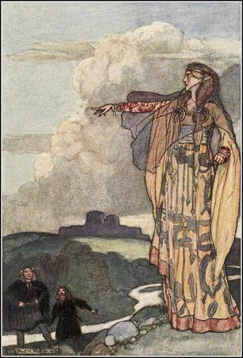 Macha Curses the Men of Ulster