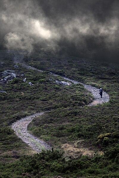 Monte do Viso, Santiago de Compostela, haiku, writing challenge, haibun, pilgrimage
