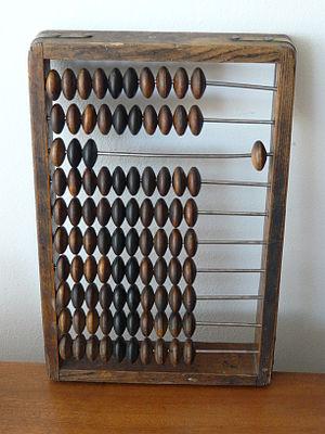 A Polish abacus (liczydło)