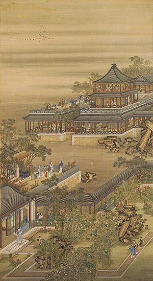 Portraits of the Yongzheng Emperor Enjoying Hi...