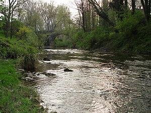 River Fluvia, Catalonia
