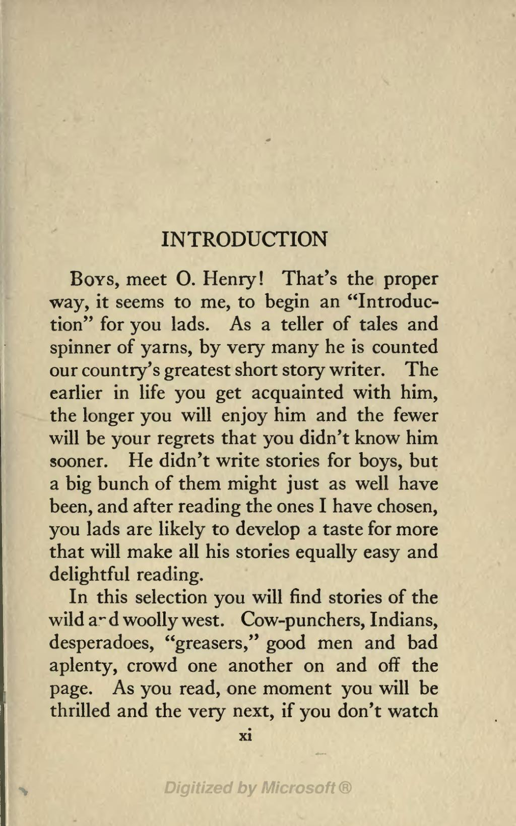 Page The Ransom Of Red Chief And Other O Henry Stories
