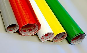English: Colour self adhesive tape (self adhes...