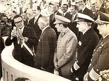 Español: Presidente de Chile (1970 - 1973) Sal...