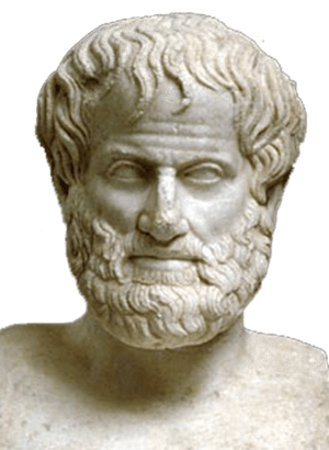 Aristotle(384-322 BC) Bust White