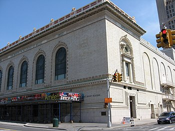 A building of the Brooklyn Academy of Music in...