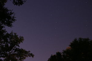 English: Big Dipper and the rest of the clear ...