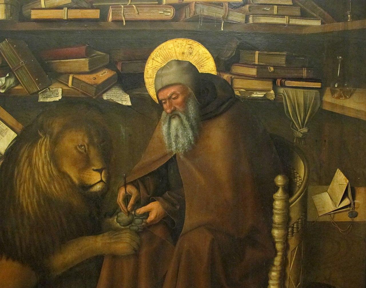 File Colantonio San Girolamo Nello Studio 1444 03 Jpg