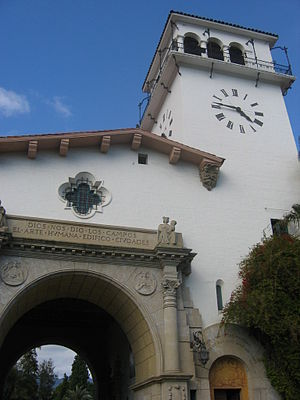 County Courthouse Santa Barbara