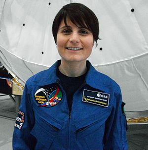 English: ESA Astronaut Samantha Cristoforetti ...