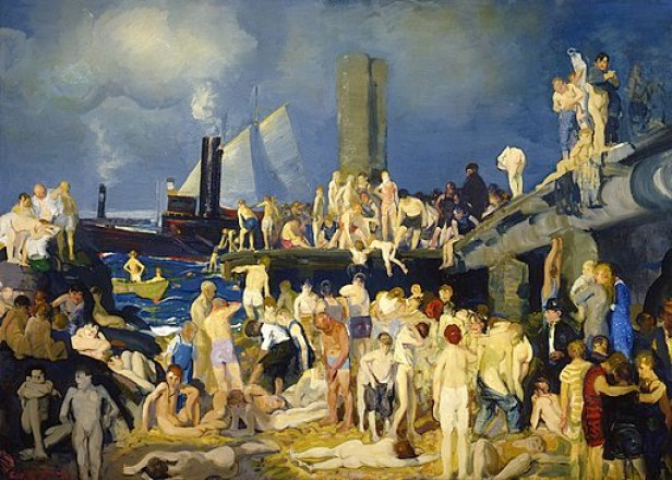 George Bellows River Front