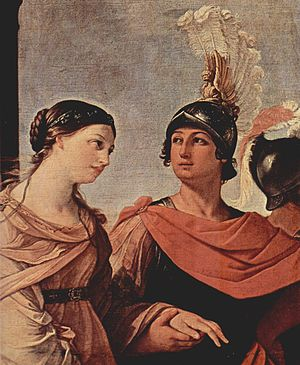 In western painting, Helen's journey to Troy i...