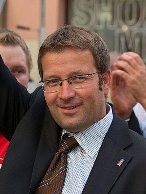 Deutsch: Der österreichische Politiker Hannes ...