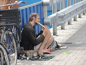 Homeless in Amsterdam