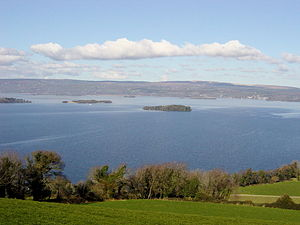 Photo of Lough Derg taken on 6/03/05 by Ludram...