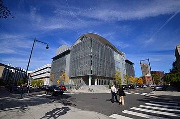 The new MIT Media Lab building (E14)