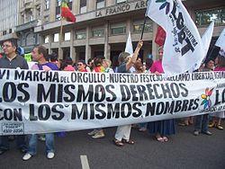 Marcha del Dia del Orgullo Gay