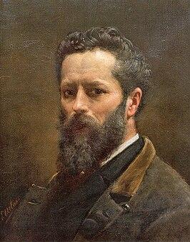 Detailed self-portrait (1889)