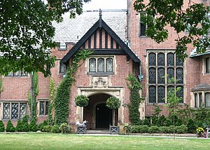 English: Front view of Stan Hywett Hall, Akron...