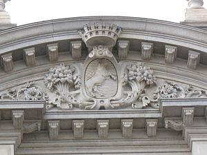 English: Coat of arms of Turin Italiano: Stemm...
