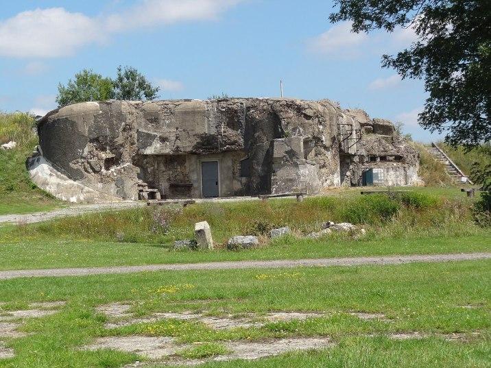 Bloc 2 de l'ouvrage, construit sur la partie sud de l'ancien fort.