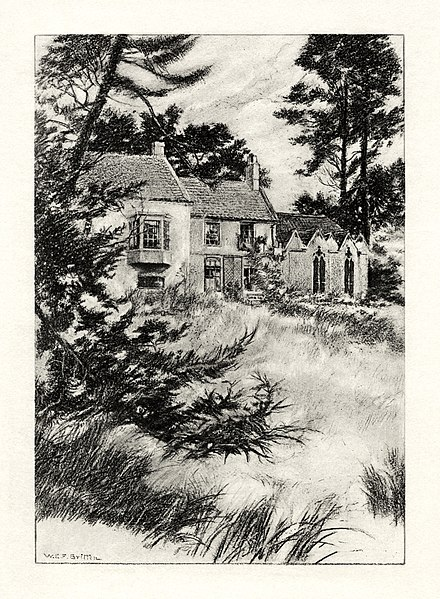File:W.E.F. Britten - The Early Poems of Alfred, Lord Tennyson - The Garden at Somersby Rectory.jpg