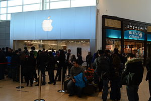 English: Apple iPad 2 launch.