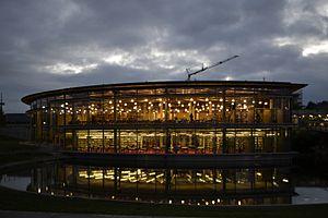 Deutsch: Die Bibliothek der Hochschule Regensb...
