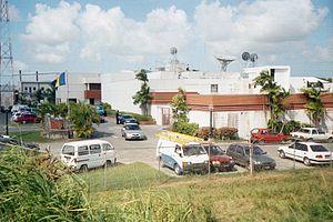English: Photo of the Caribbean Broadcasting C...