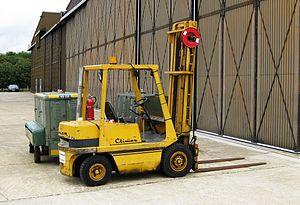 English: Coventry Climax forklift truck