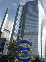 Eurotower, sede del BCE.