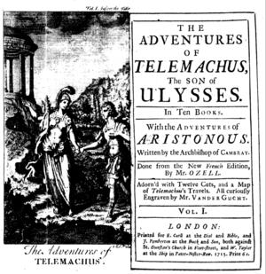 Fenelon Telemachus Curll 1715