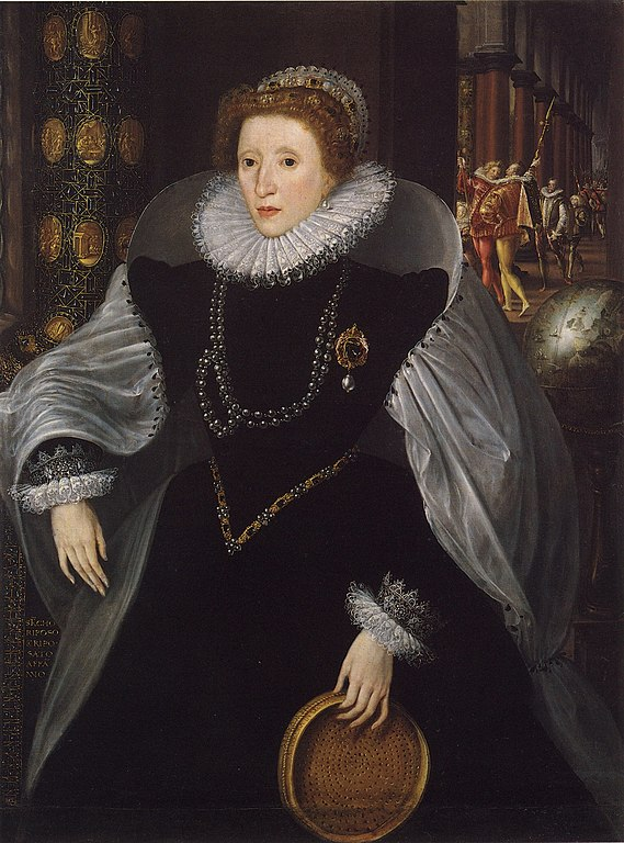 the sieve portrait of Elizabeth I