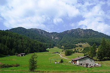 English: Mount Padrio. Val Camonica - Val Tell...