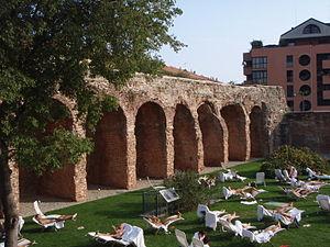 Italiano: Milano Porta Romana le mura spagnole...