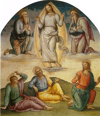 PERUGINO, Pietro Fresco, Collegio del Cambio, ...