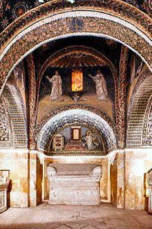 Mauzoleum Galli Placydii W Rawennie Wikipedia Wolna