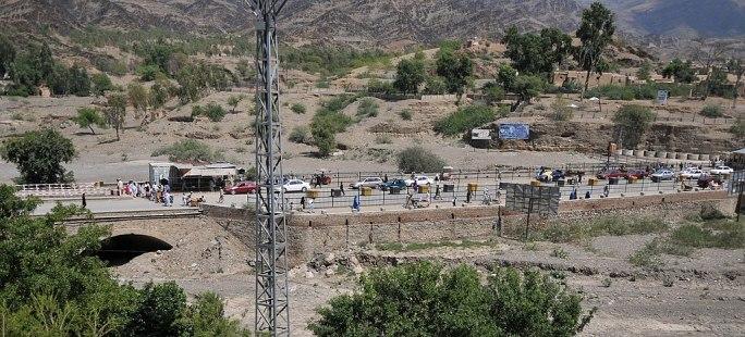 Torkham border crossing in September 2011-cropped