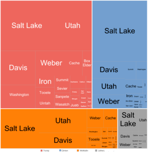 United States Presidential Election In Utah 2016 Wikipedia