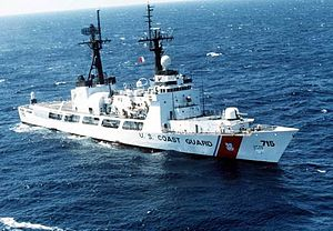 378-foot High Endurance Cutter (WHEC) USCGC Ha...