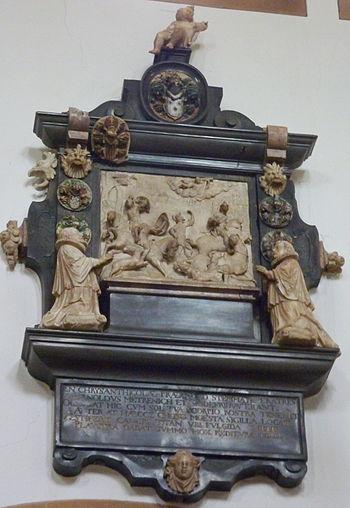 Epitaph in der katholischen Pfarrkirche (Stift...