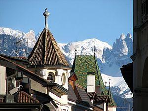 Bozen-Bolzano, in the heart of the Italian Alps