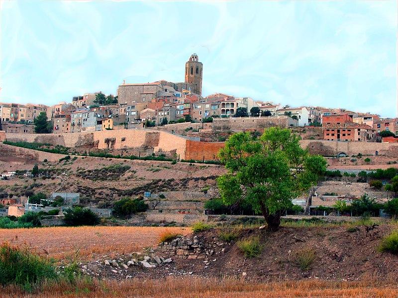 Cervera és la capital de la comarca