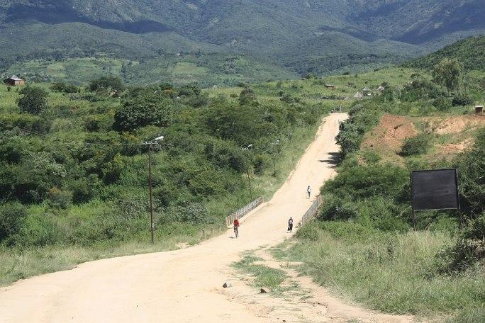 Close to Machipanda, border Mozambique Zimbabwe