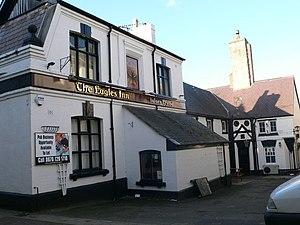English: Eagles Inn, Denbigh One of three pubs...